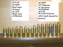 handgun-various